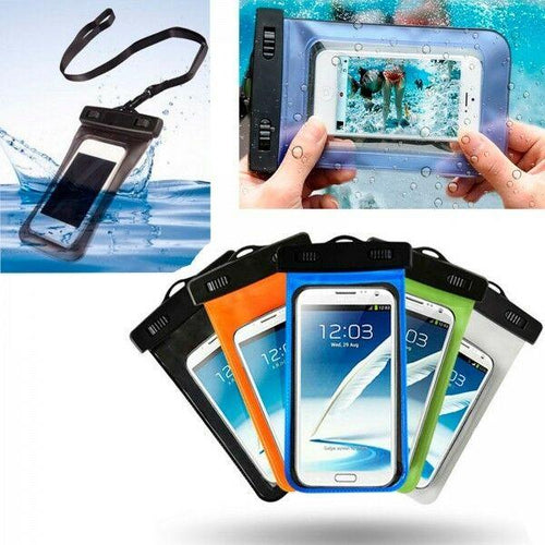 Funda de PVC estanca, sumergible e impermeable, para móvil, camara, ipod o iphone. - Kitadake for travellers