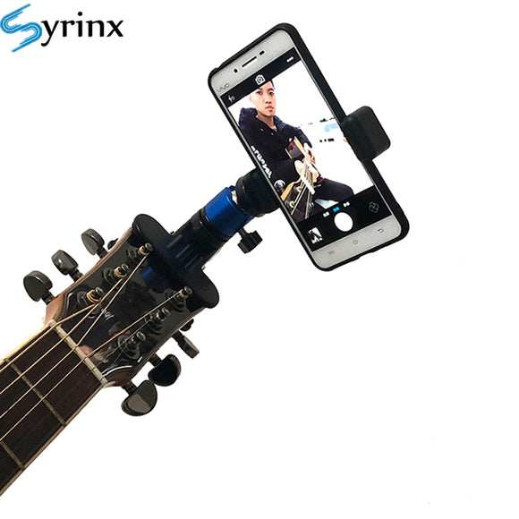 Guitar Head Clip Mobile Phone Holder