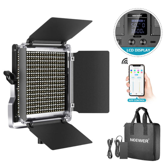 660 LED Video Lighting Kit with APP Control System