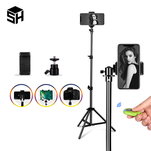 Selfie Tripod For Mobile Phone & Digital Camera With Bluetooth Remote Control