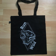 Load image into Gallery viewer, Run Wild tote bag
