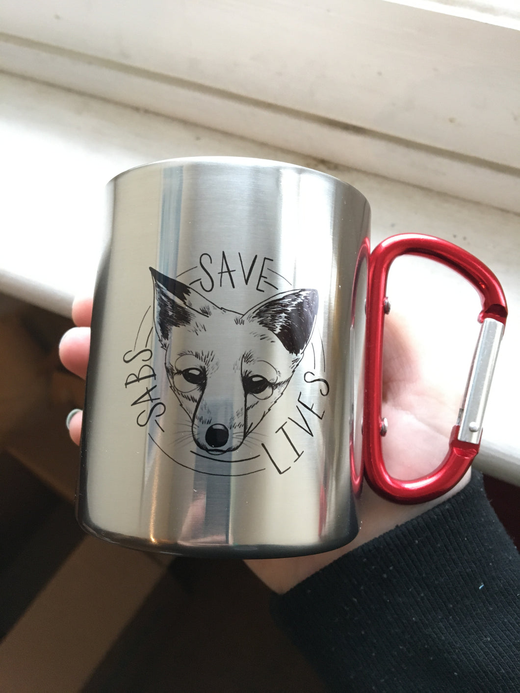 Sabs Save Lives Metal Camping Mug