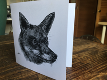 Load image into Gallery viewer, Hunted Fox Card