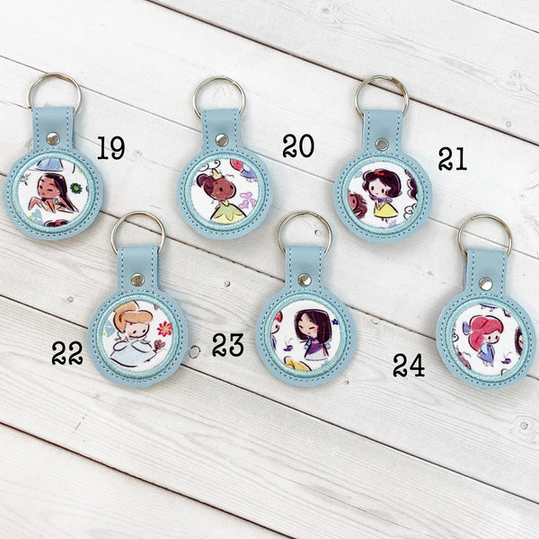 Mini Keyrings - Cute Royalty