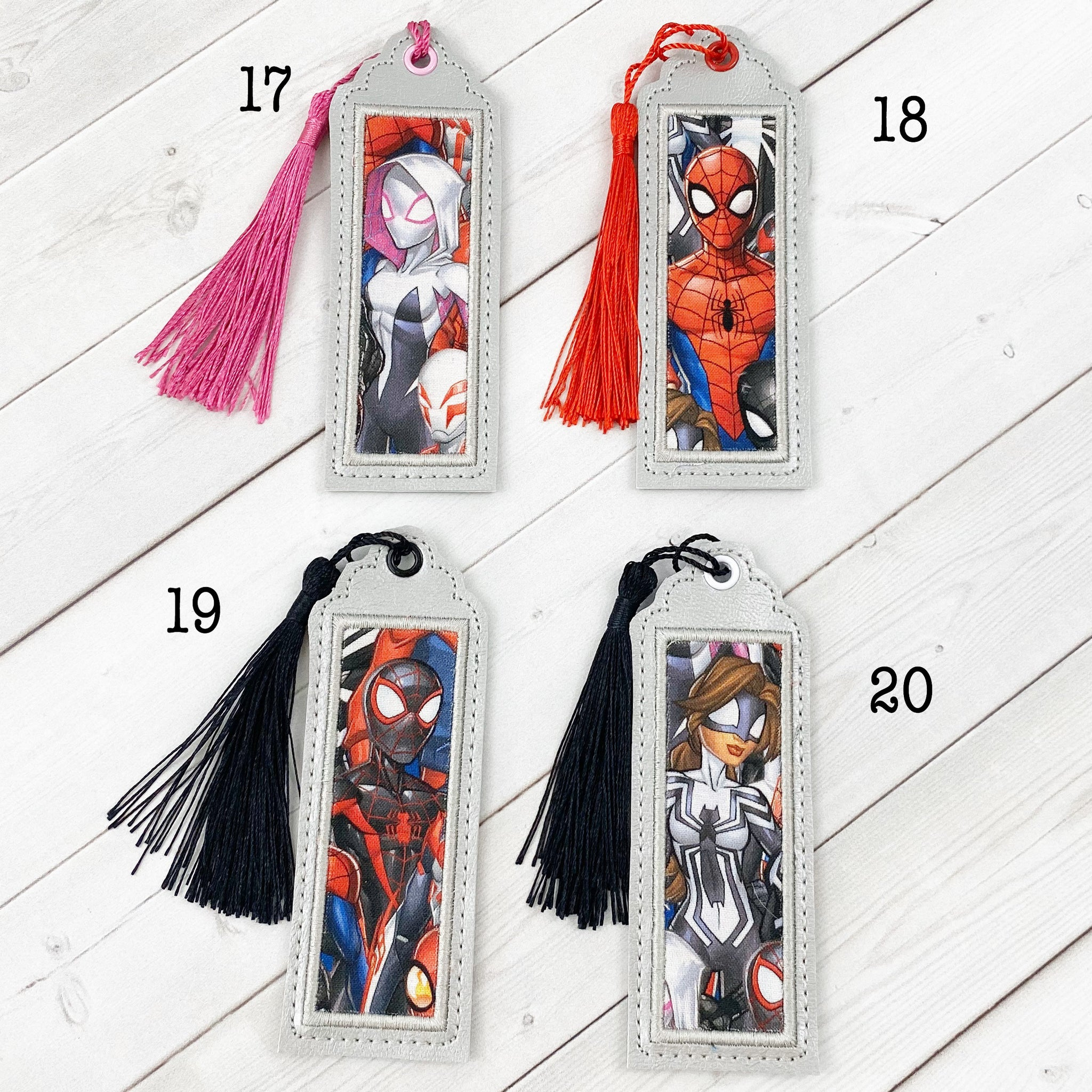 Bookmarks - Arachnid Superheroes