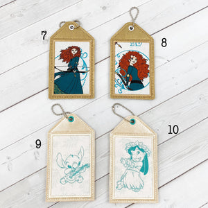 Luggage Tags - Royalty and Luaus