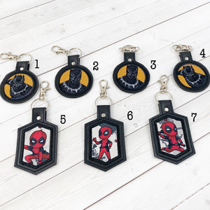 Keyrings - Superheroes