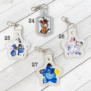 Keyrings - Animated Characters