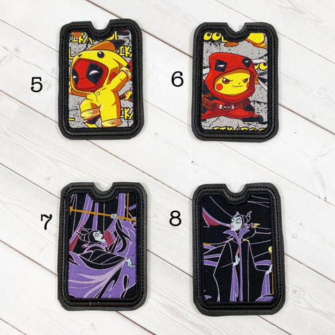 Gift Card Holders - Cute Mercenary and Evil Dragon Lady