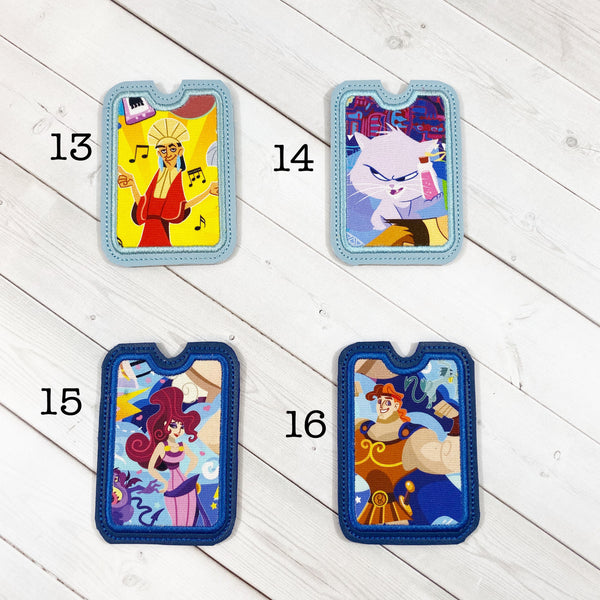 Gift Card Holders - South American and Greek Characters