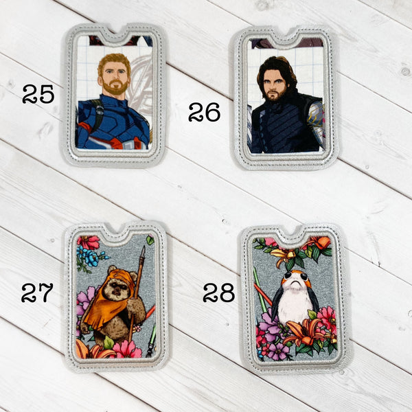 Gift Card Holders - Superheroes and Squishy Cute Scifi Critters