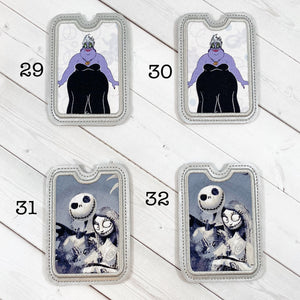 Gift Card Holders - Octopus Villain and Skeletal Holiday Guy and Girl