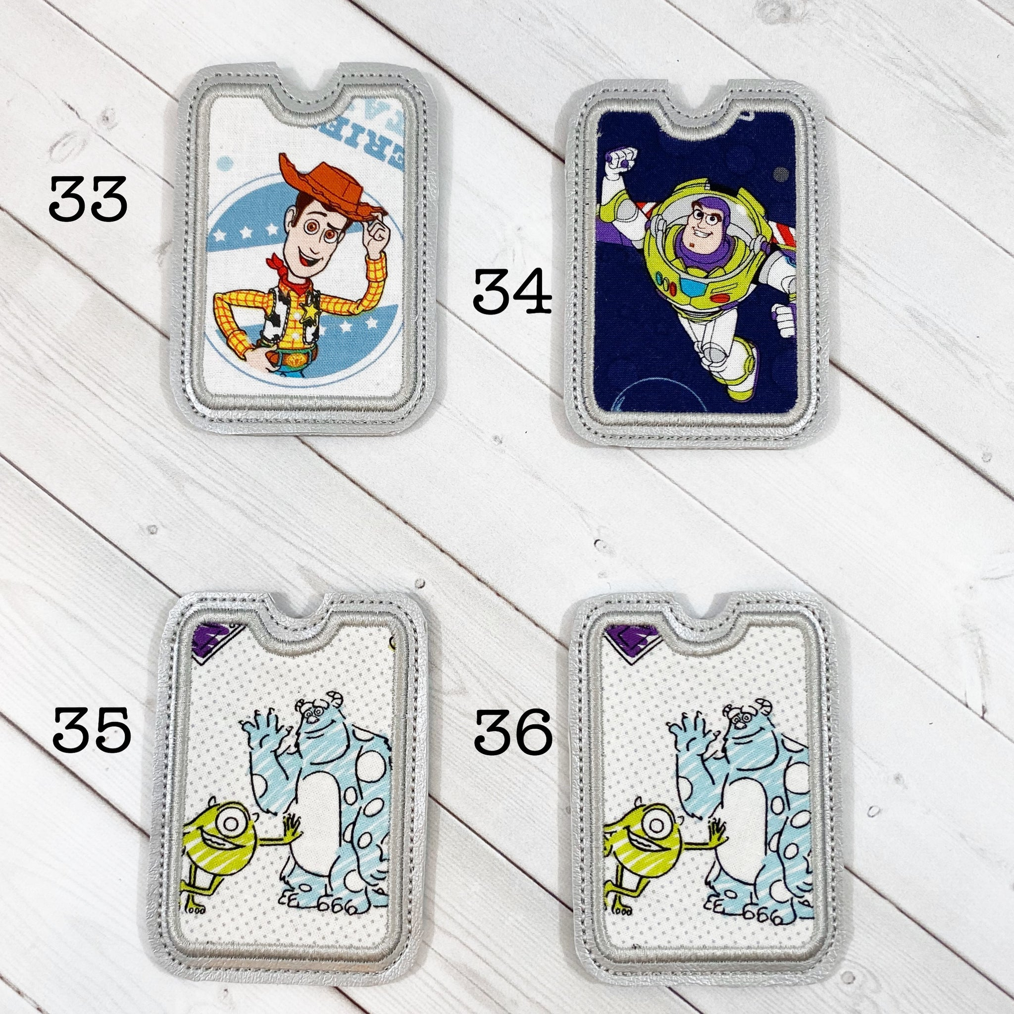 Gift Card Holders - Cowboy & Space Guy and Monster Pals