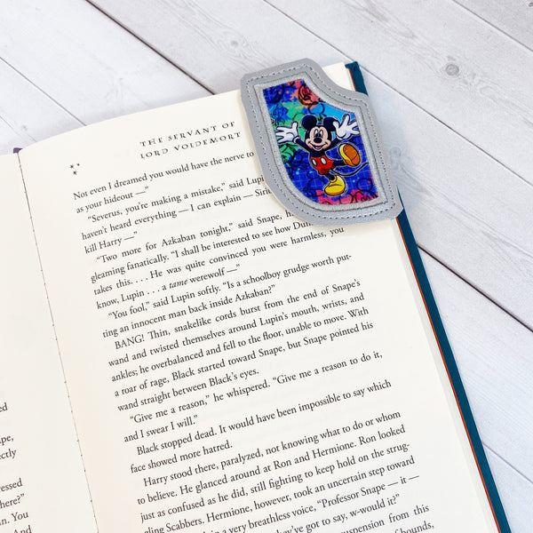 Mini Bookmarks - Space Epic Floral