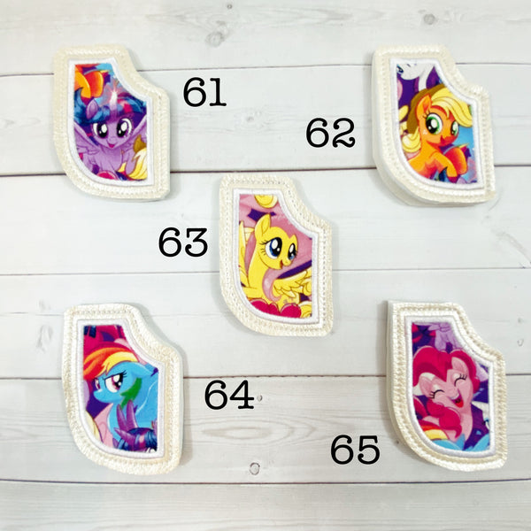 Mini Bookmarks - Small Magic Friend Horses