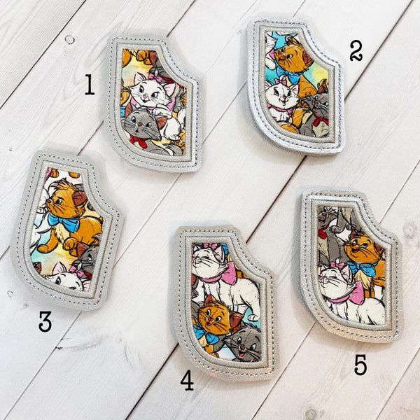 Mini Bookmarks - Parisian Kittens