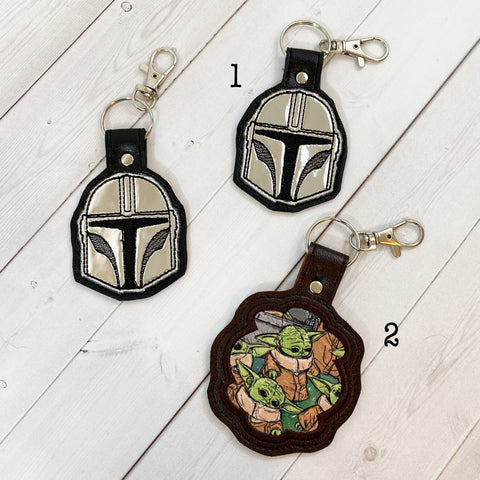 Keyrings - Bounty Hunter and Pal