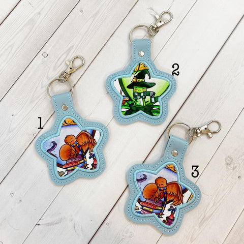 Keyrings - Magic School Mascots