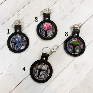 Keyrings - Bounty Hunters