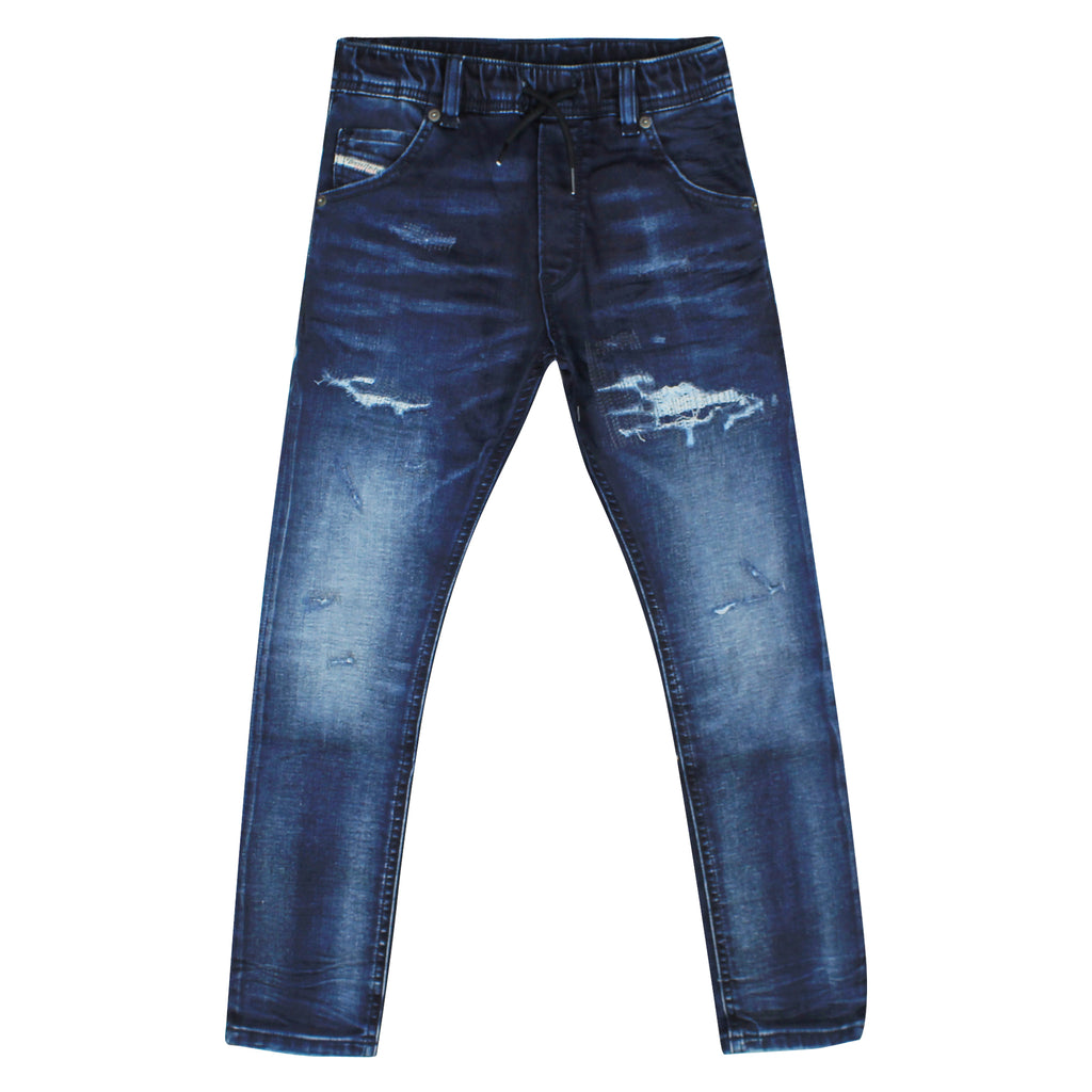 Diesel Kid Jeans baby Krooley-Ne-J in cotton denim effect