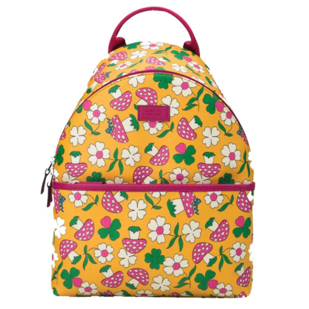 Girl Backpack With floral print