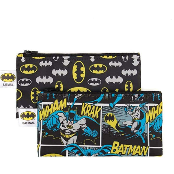 2pc Reusable Snack Bags - Batman - Reusable Bags and Containers