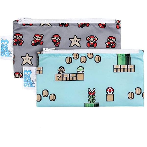 2pc Reusable Snack Bags - Mario - Reusable Bags and Containers