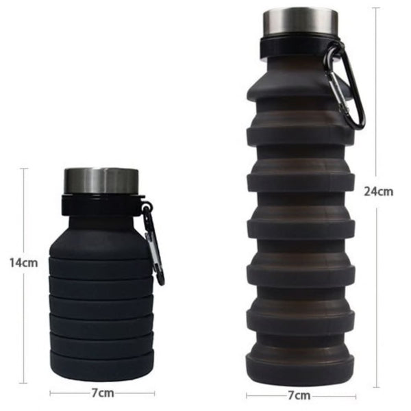 Folding Silicone Water Bottle - Water Bottle