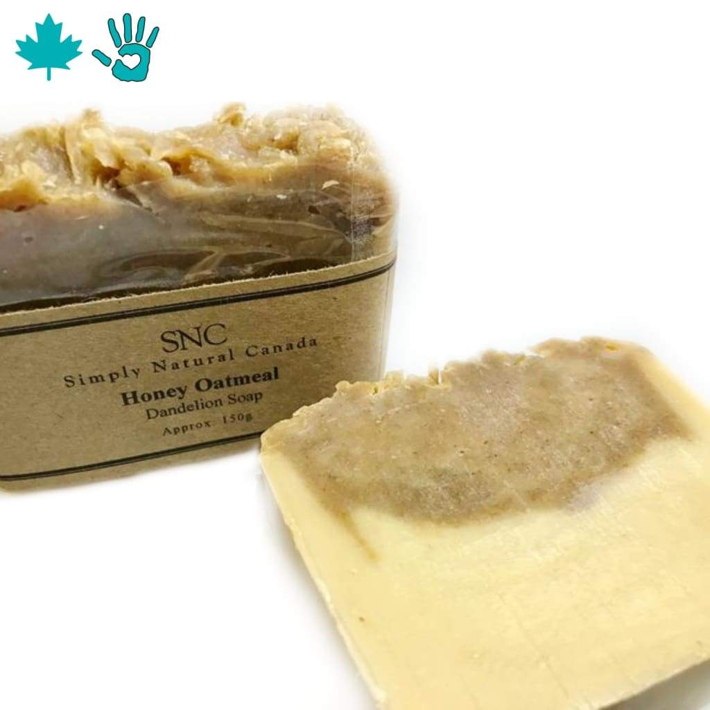 SNC Honey Oatmeal Dandelion Soap - Shampoo and Body Bar