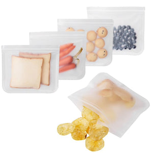 Reusable Food Storage Bags - 5Pc - Reusable Bags and Containers