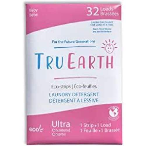 Tru Earth Eco-Strips Laundry Detergent (Fragrance-free) - Baby - Laundry