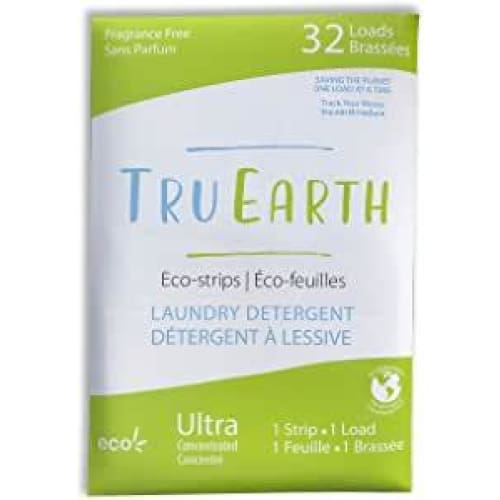Tru Earth Eco-Strips Laundry Detergent (Fragrance-free) - Fragrance-free - Laundry