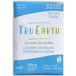 Tru Earth Eco-Strips Laundry Detergent (Fragrance-free) - Fresh Linen - Laundry