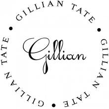 Gillian - Self-Inking Stamper
