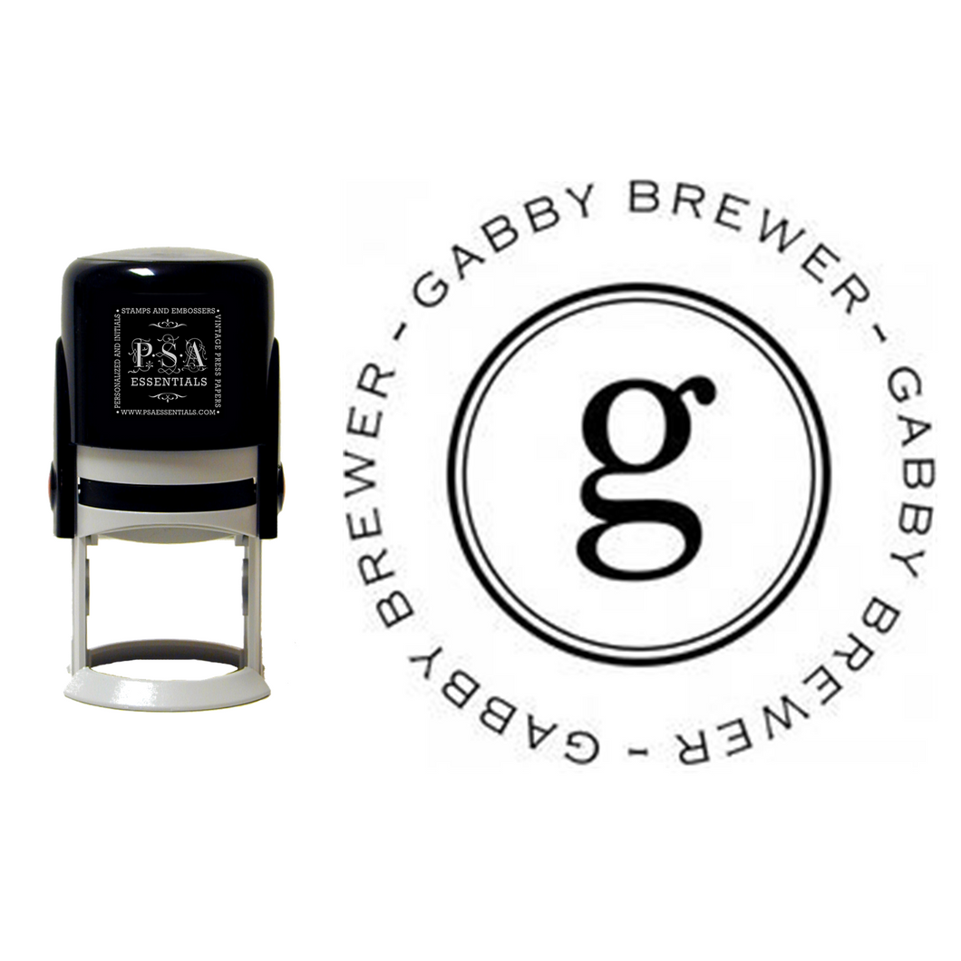 Gabby - Self-Inking Stamper
