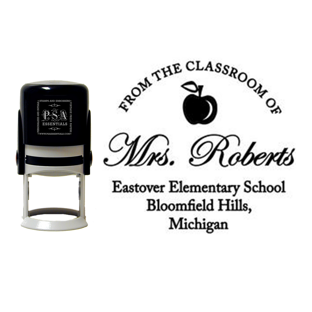 Mrs. Roberts Teacher - Self-Inking Stamper
