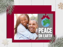 Load image into Gallery viewer, Peace on Earth - Custom Photo Card