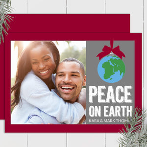 Peace on Earth - Custom Photo Card