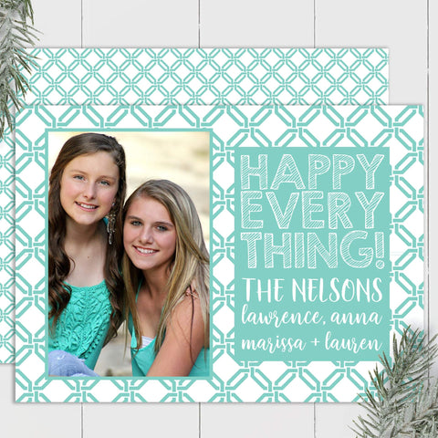 Modern Wicker - Custom Photo Card