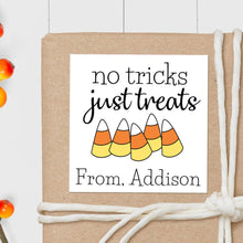 Load image into Gallery viewer, Candy Corn - Square Gift Sticker