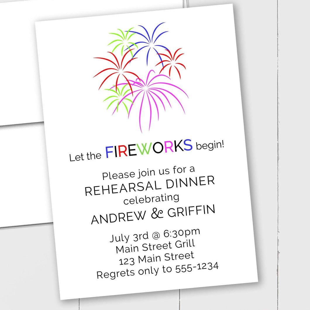 Fourth of July - Custom Invitation