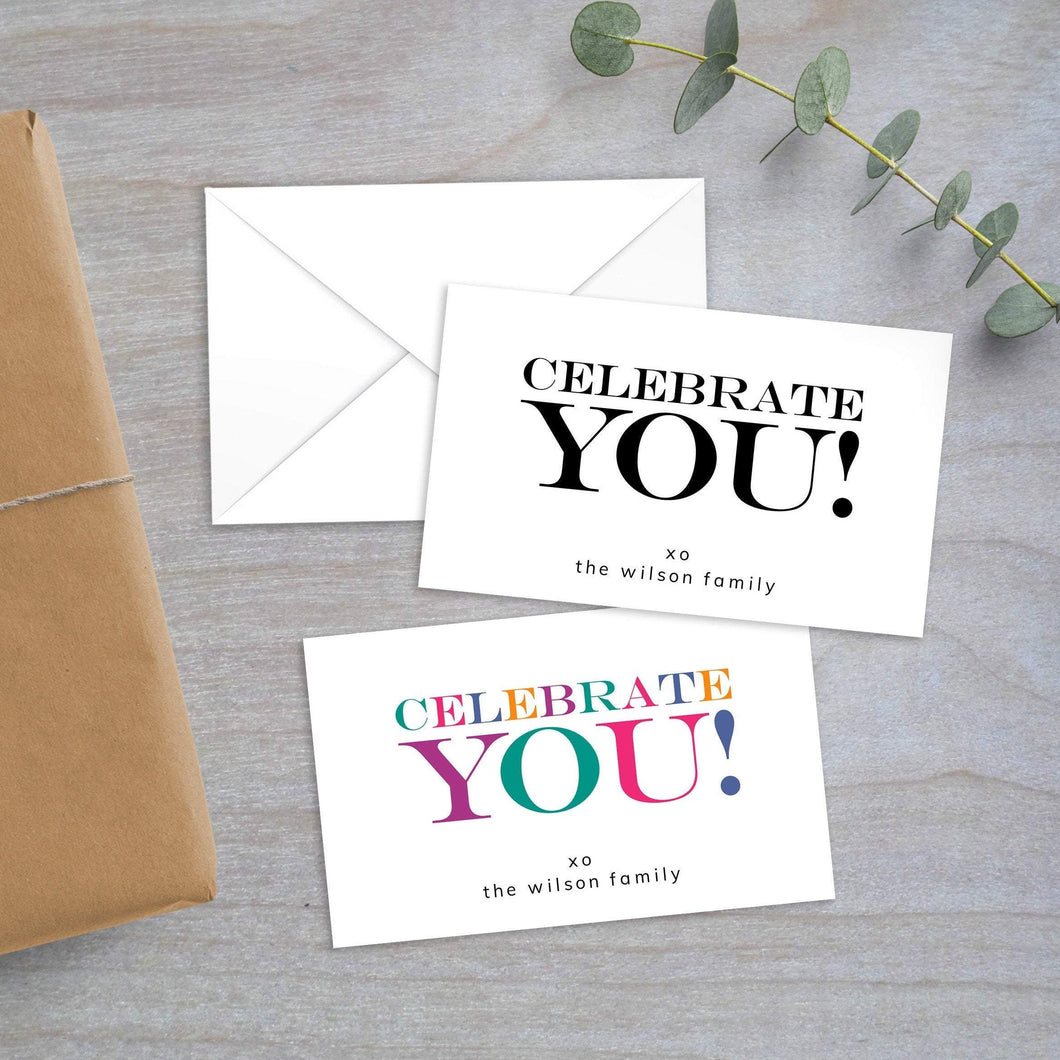 Celebrate You - Gift Enclosure