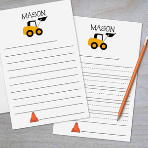 Construction - Lined Stationery Sheets