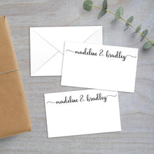 Load image into Gallery viewer, modern calligraphy script enclosure card