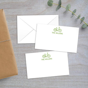 bicycle enclosure card
