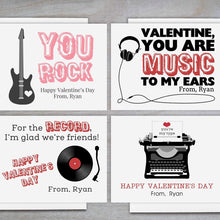 Load image into Gallery viewer, Retro - Personalized Valentine's Day Cards