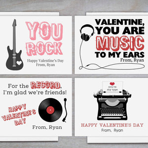 Retro - Personalized Valentine's Day Cards