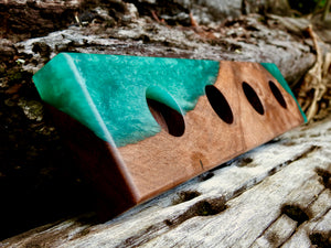 Wattle Tea Light Holder - Salvaged Designs