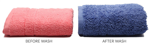 Antibacterial Towel is more plush and fluffier than tother towels