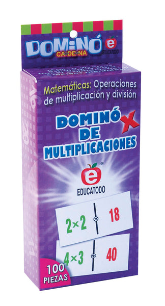 Dominó Tablas de Multiplicar